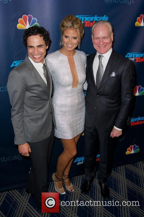 Zac Posen, Heidi Klum and Tim Gunn 2