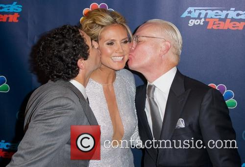 Zac Posen, Heidi Klum and Tim Gunn 4