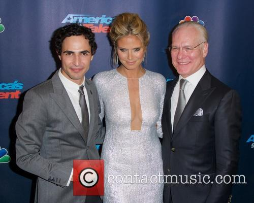 Zac Posen, Heidi Klum and Tim Gunn 5