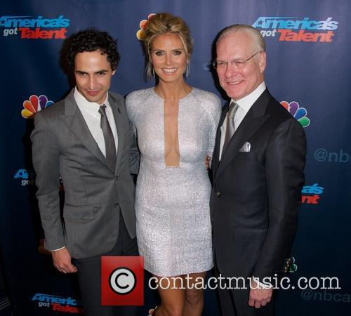 Zac Posen, Heidi Klum and Tim Gunn 1