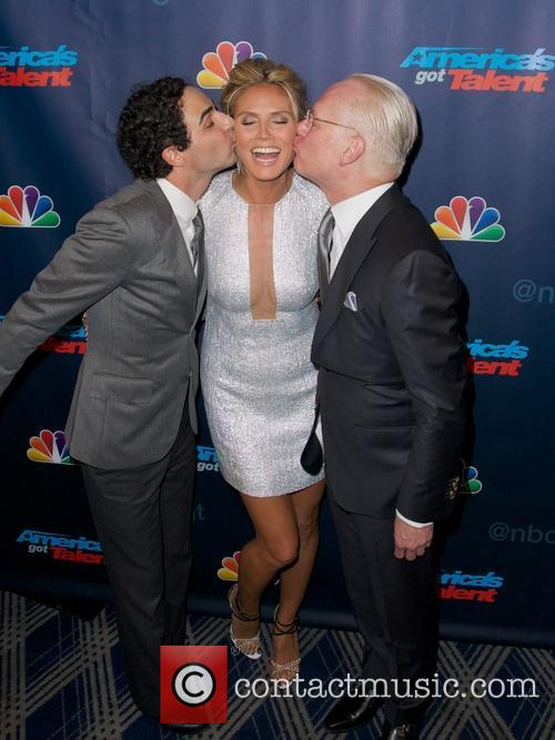 Zac Posen, Heidi Klum and Tim Gunn 6