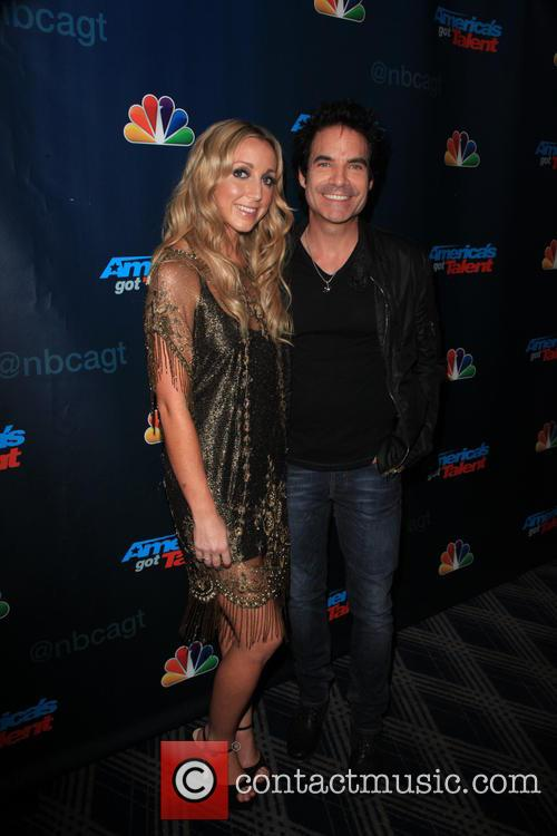 Ashley Monroe and Pat Monahan 3