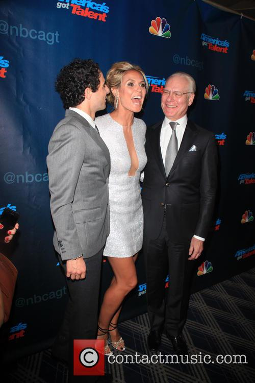 Zac Posen, Heidi Klum and Tim Gunn 7