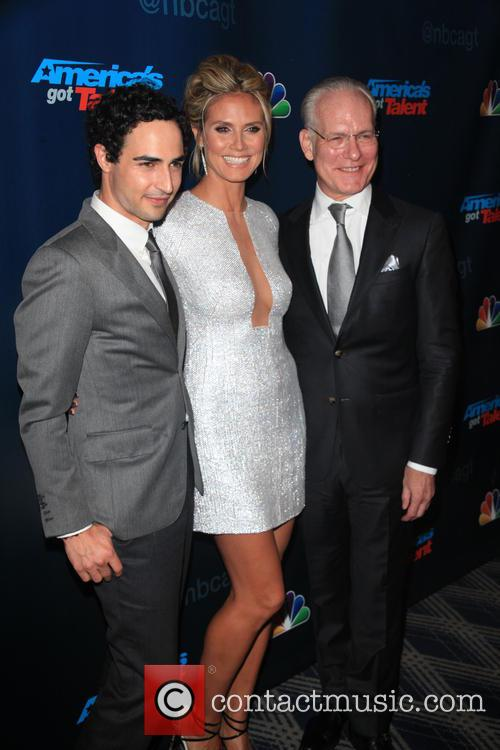 Zac Posen, Heidi Klum and Tim Gunn 9