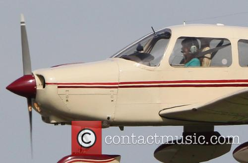 Carol Vorderman first solo flight