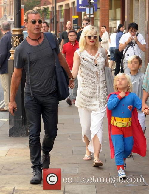 Gwen Stefani and Gavin Rossdale out in London