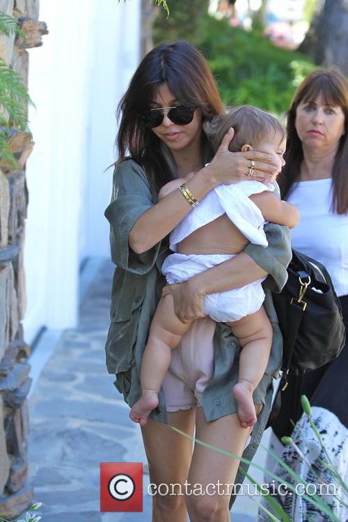 Kourtney Kardashian and Penelope Disick 17