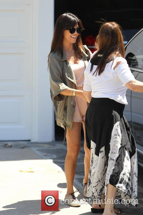 Kourtney Kardashian and Penelope Disick 22
