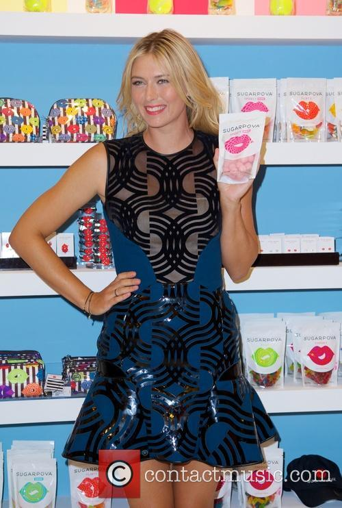 Maria Sharapova attends the Sugarpova