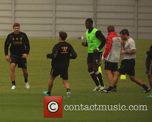 Liverpool training at Melwood Training ground