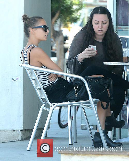 nicole richie nicole richie has lunch with 3826883