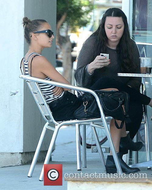 nicole richie nicole richie has lunch with 3826884