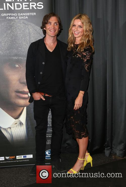Cillian Murphy and Annabelle Wallis 2