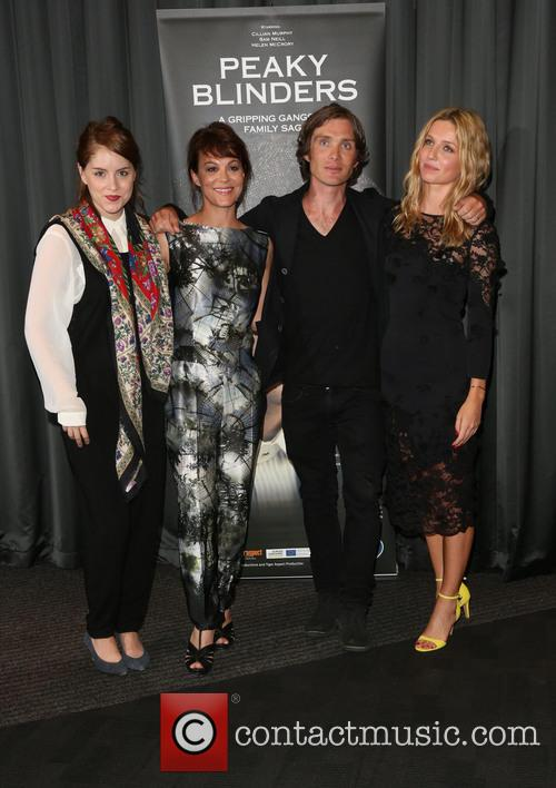 Helen Mccrory, Sophie Rundle, Cillian Murphy and Annabelle Wallis 6
