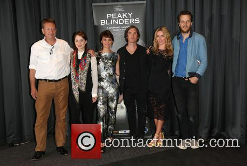 Steven Knight, Sophie Rundle, Helen Mccrory, Cillian Murphy, Annabelle Wallis and Otto Bathurst 4