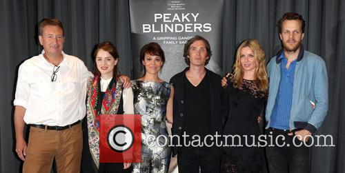 Steven Knight, Sophie Rundle, Helen Mccrory, Cillian Murphy, Annabelle Wallis and Otto Bathurst 6