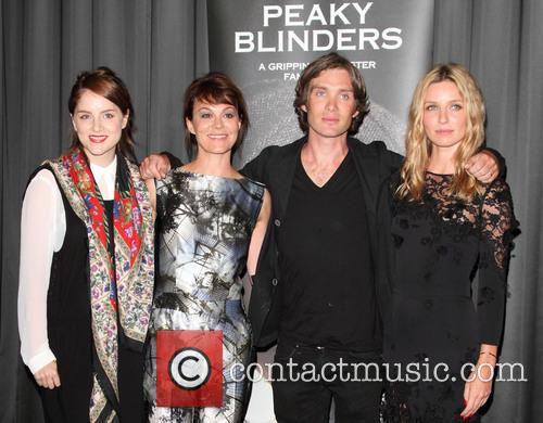 Sophie Rundle, Helen Mccrory, Annabelle Wallis and Cillian Murphy