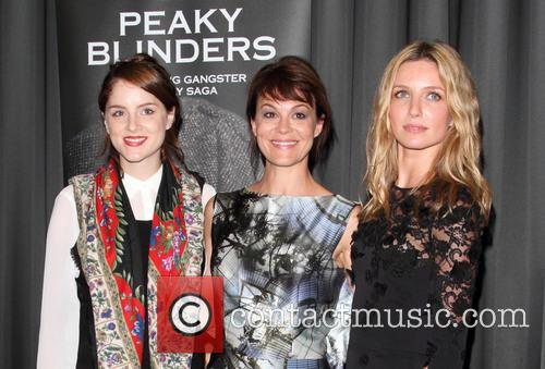 Sophie Rundle, Helen McCrory and Annabelle Wallis 2