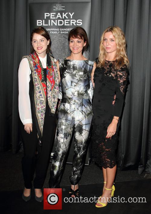 Sophie Rundle, Helen McCrory, Annabelle Wallis, BFI South Bank