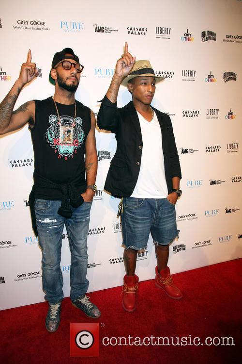 Swizz Beatz and Pharrell Williams