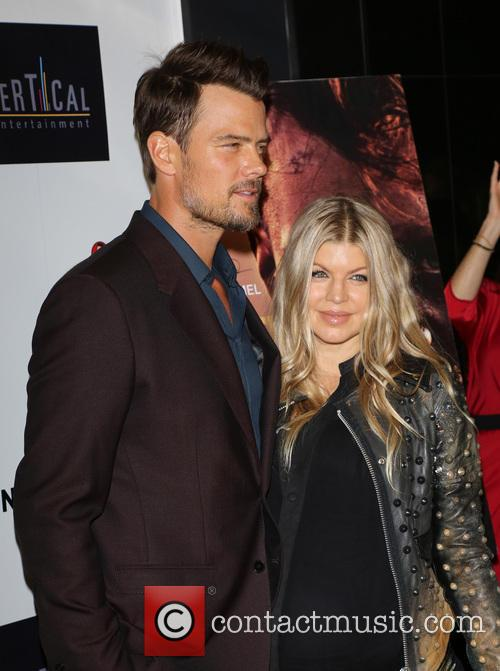 Josh Duhamel and Fergie 2
