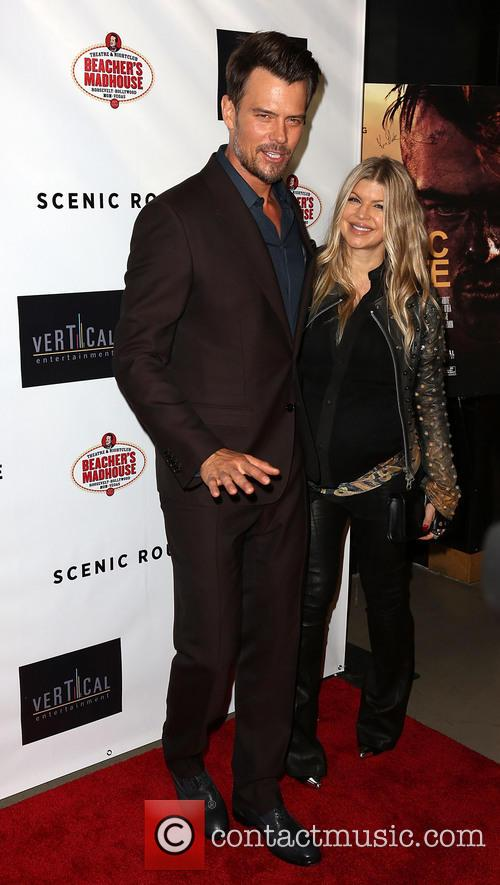 Josh Duhamel and Fergie 6