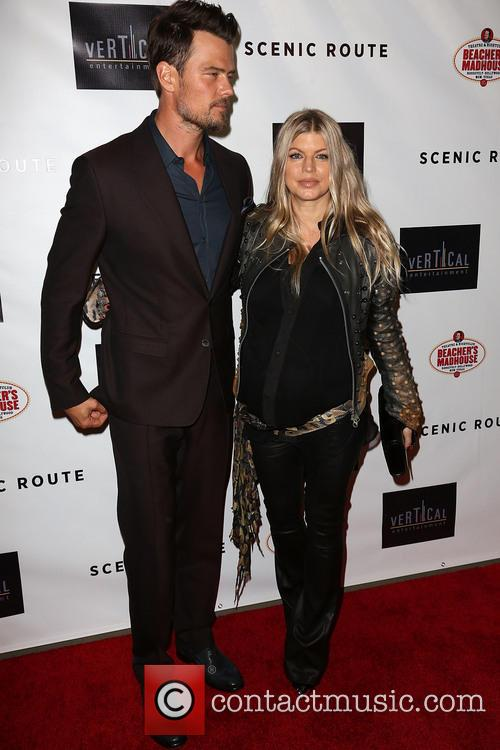 Josh Duhamel and Fergie 8
