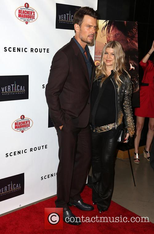 Josh Duhamel and Fergie 11
