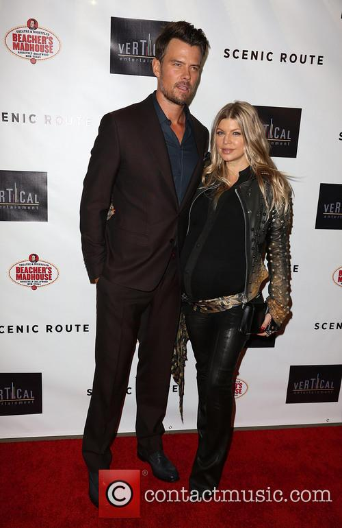 Josh Duhamel and Fergie 12