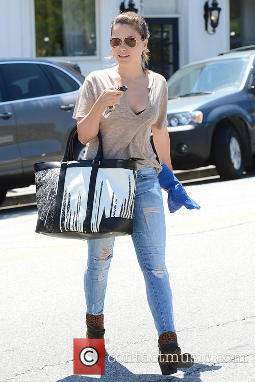 Sophia Bush Shops and Runs Errands in Beverly...