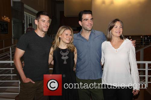 brian j smith celia keenan bolger zachary quinto cherry jones broadways 3825747