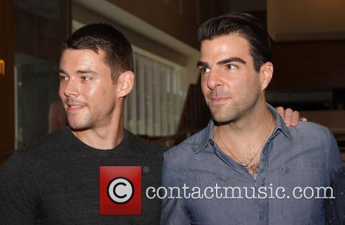 Brian J. Smith and Zachary Quinto