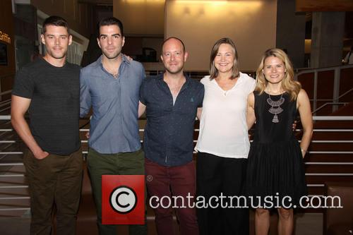 Brian J. Smith, Zachary Quinto, John Tiffany, Cherry Jones and Celia Keenan-bolger 5