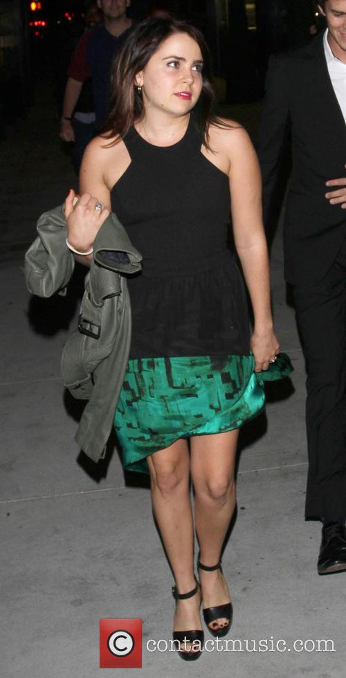 mae whitman celebrities outside the cat fiddle 3829179