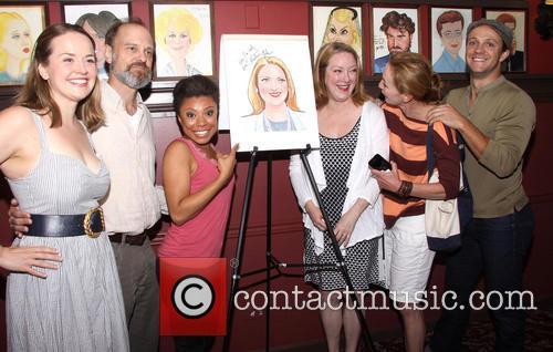 Liesel Allen Yeager, David Hyde Pierce, Shalita Grant, Kristine Nielsen, Julie White and Creed Garnick 1