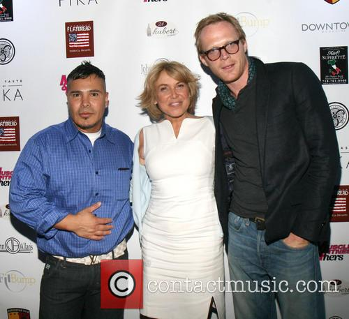 Alejandro Ferrari, Grace A. Capobianco and Paul Bettany 3
