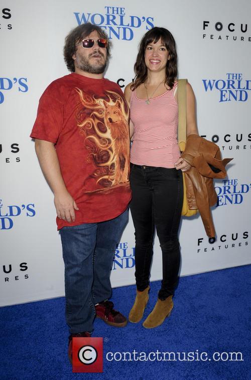 Jack Black and Tanya Haden 5