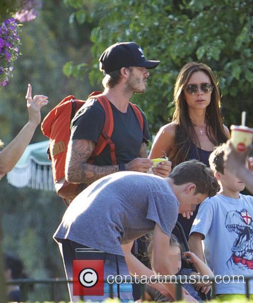David Beckham and Victoria Beckham 8