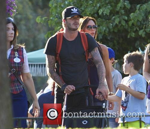 David Beckham, Victoria Beckham and Cruz Beckham 11