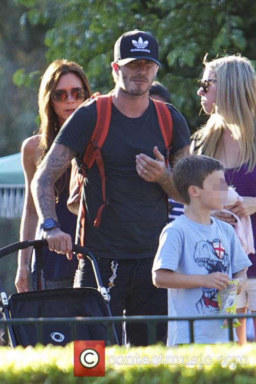 David Beckham, Victoria Beckham and Cruz Beckham 7