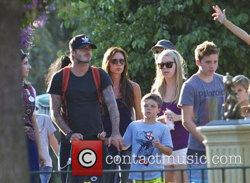 David Beckham, Victoria Beckham, Cruz Beckham and Brooklyn Beckham 7