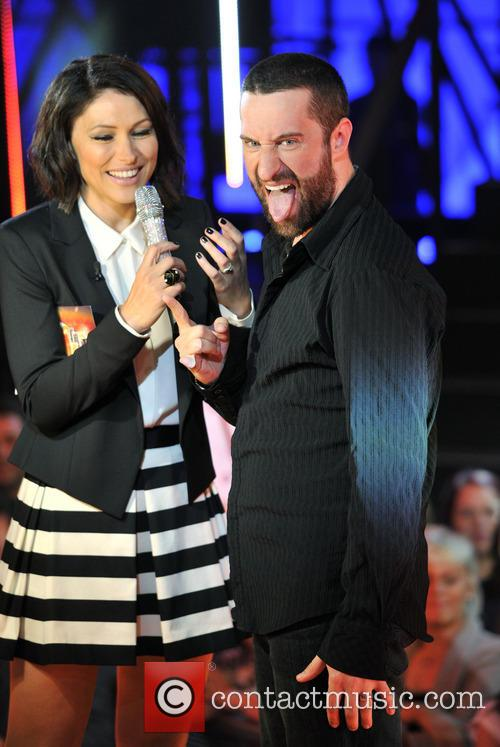 Emma Willis and Dustin Diamond 8