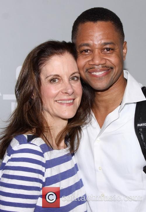 Hallie Foote and Cuba Gooding Jr 1