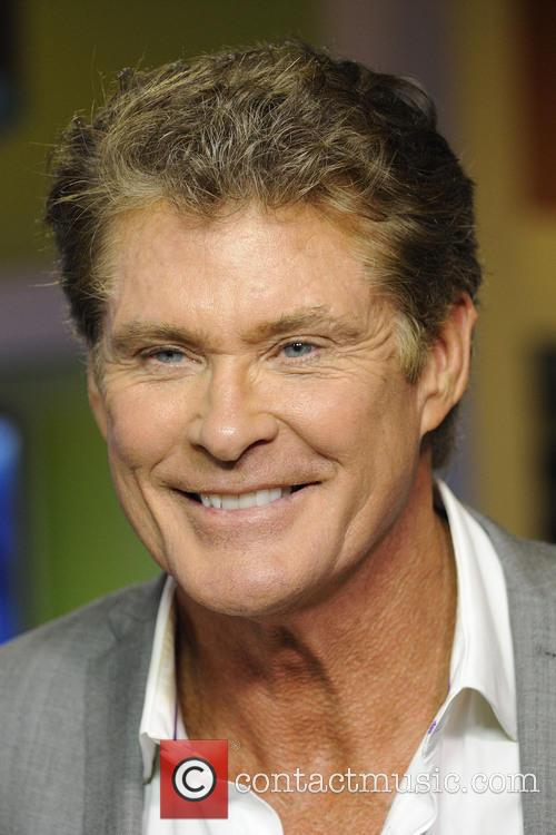 David Hasselhoff on The Morning Show