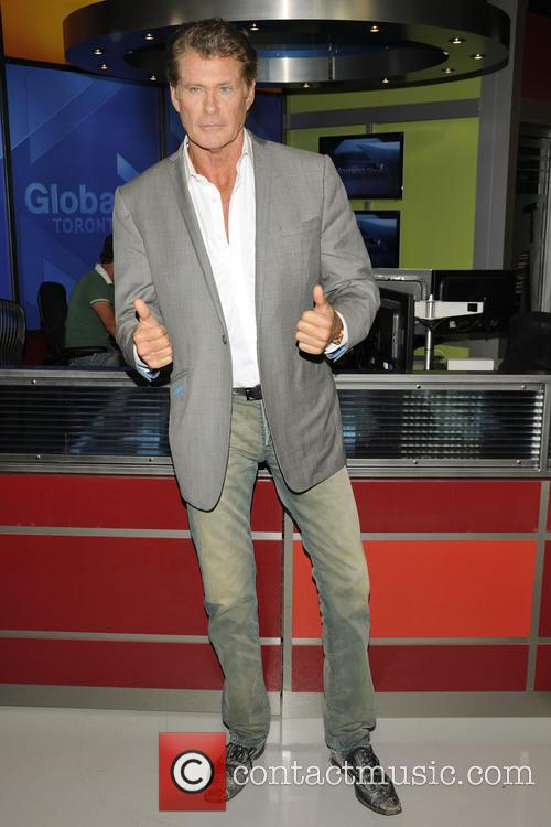 David Hasselhoff on The Morning Show