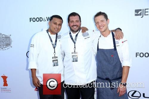 Alex Recinos, Mirko Paderno, Zack Pollack, downtown Los Angeles