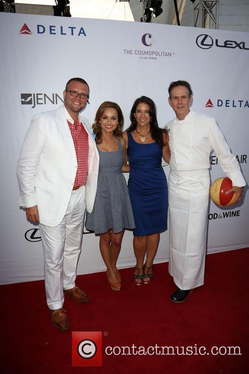 David Bernahl, Giada De Laurentiis, Guest and Thomas Keller 2