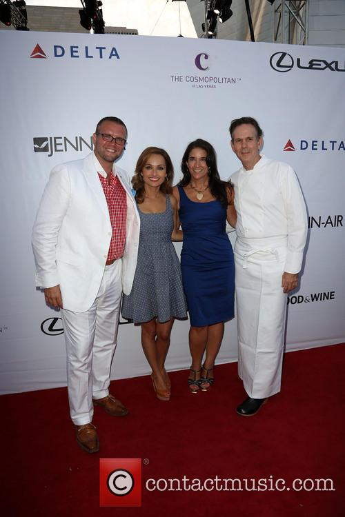 David Bernahl, Giada De Laurentiis, Guest and Thomas Keller 3