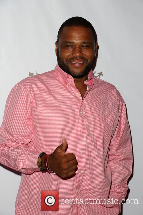 Anthony Anderson, downtown Los Angeles