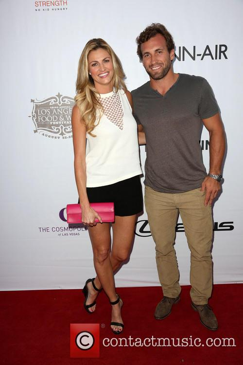 Jarret Stoll and Erin Andrews
